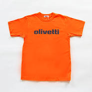 Olivetti Tシャツ (オレンジ)