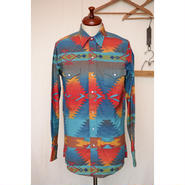 Wrangler 80'S ネイティブウエスタンシャツ