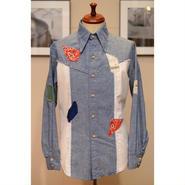 KENNINGTON 70'S クレイジーパターンシャンブレーシャツ