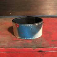 DFA/SPACE DRIPPING LEATHER BRACELET_02