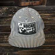 NOCARE/6PANEL HICKORY WORK CAP