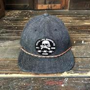 NOCARE/5PANEL CAMP CAP_DEMIM