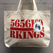 5656WORKINGS/RP CANVAS TOTE BAG