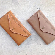 Leather Long Wallet-Mercurio-