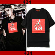 G-DRAGON 424Tシャツ 大人気半袖 送料無料