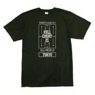 FULL COURT 21™ TOKYO GAME T-Shirts (Dark Green / White)