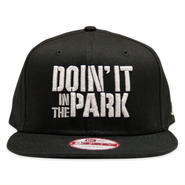 "DOIN' IT IN THE PARK x SpaceBall Mag ""Snapback Cap"" - Black"