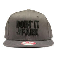 "DOIN' IT IN THE PARK x SpaceBall Mag ""Snapback Cap"" - Grey"
