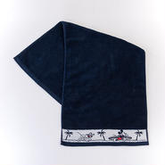 【SURF MICKEY】 FACE TOWEL  NAVY [SM17SS-TW02]