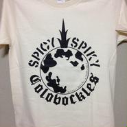 「コロボックルズ」 × 「SPICY SPIKY」 コラボTシャツ ナチュラル