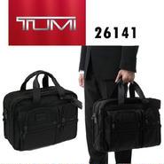TUMI /トゥミ ALPHA エクスパンダブル オーガナイザービジネスバッグ ブリーフ BLACK [26141]
