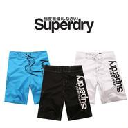 ☆2015年新作☆ Superdry スーパードライ メンズ サーフパンツ/男性水着/メンズ/海パン/海水パンツ/速乾/内面手触柔らかい[SPD01]