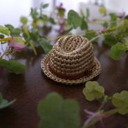 中折れ帽子革ベルト(リカちゃんサイズ)