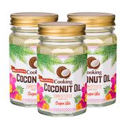 クッキングココナッツオイル 3個セット