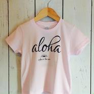 【SUNSURF】     aloha Tee (kids)     100cm.120cm        2color