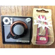 キャンペーン KNOG Oi LARGE  Copper knog STROBE Magenta  ホワイトライト付き 数量限定・在庫限り。