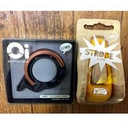 キャンペーン KNOG Oi LARGE  Copper knog STROBE Orange  ホワイトライト付き 数量限定・在庫限り。