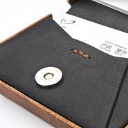 for card case12 木と革の名刺入れ