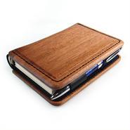Design Case for System Book Cover A木製システム手帳A