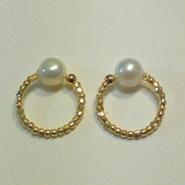 earrings「FEMME」pearl