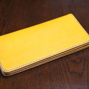 イタリアンレザー 二つ折り長財布