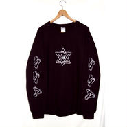 SSD star×bones sweat bk