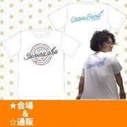 ネオン管Tシャツ(ホワイト)