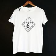 【BUFFONE】No.8 White T-Shirt