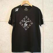 【BUFFONE】No.8 Black T-Shirt