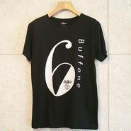 【BUFFONE】No.7 Black T-Shirt