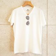 【RAFFAELLO】サングラス スワロフスキー White T-Shirt
