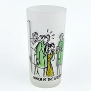 【American Vintage】Cynical Frosted Glass シニカルフロストグラス GROOM from Portland