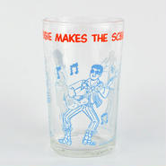 【American Vintage】The Archie Show Glass アーチーでなくっちゃ!グラス ブルー from Portland