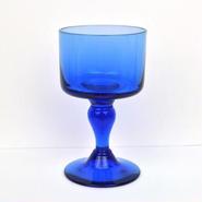 【American Vintage】Blue Goblet ブルーのゴブレット from San Francisco