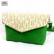 Gobelin pochette ゴブラン織りのポシェット green