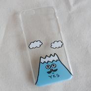 バウの「富士さん」のiPhoneカバー 5, 5s, SE, 6, 6s, 7 あります。 白と黒  のコピー