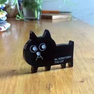 黒猫の小林さんのアクリルブローチ