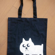 猫の小林さんのコットントートバッグ