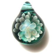 [MCN-32] mini clear flower pendant