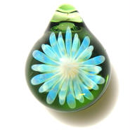 [MCYF-19]mini clear yellow flower pendant