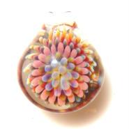 [MCPF-25]mini clear poisonous flower pendant