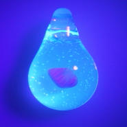 [uvOP-02] uv opal pendant