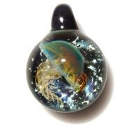 [UK-36] deep sea jellyfish pendant