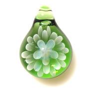 [MCN-33] mini clear flower pendant