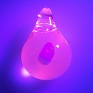 [uvOP-06] uv opal pendant