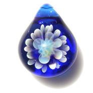[MCN-24] mini clear flower pendant