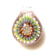 [MCCF-05]mini cute clear flower pendant