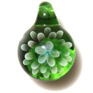 [MCN-18] mini clear flower pendant