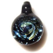 [UBMP-24] meteor black planet pendant