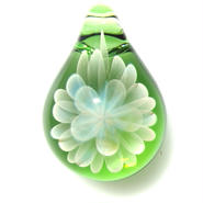 [MCN-44] mini clear flower pendant